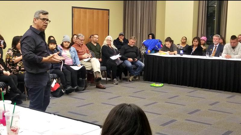 Nanaimo Now News – Advocates meet in Nanaimo to tackle lack of supports for urban Indigenous people